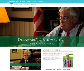 Image of the Auditor of Accounts new responsive website