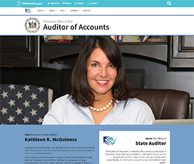 Image of the Auditor of Accounts's new CLF4 website