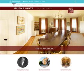 Image of Buena Vista Conference Center's CLF4 website
