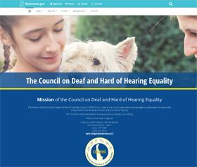 Image of CODHHE's CLF4 website