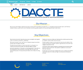 Image of DACCTE's new CLF4 website