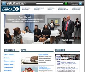Department of Labor new website