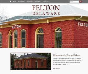 Image of Felton Delaware's new responsive website