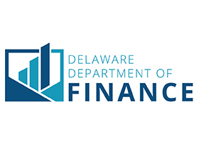 Image of the new logo design for the Delaware Department of Finance