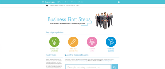 Business First Steps