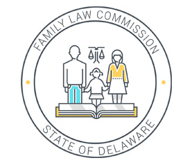 Image of the new Family Law Commission logo