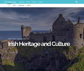 Image of the Irish Commissions new CLF4 website