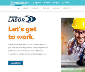 Image of the Delaware City Website