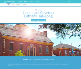 Image of Lt. Governor Bethany Hall-Long's CLF4 website