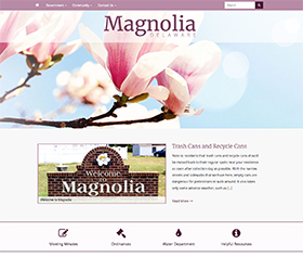 Image of Magnolia Delaware's new responsive website