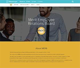 Image of MERB's new CLF4 website