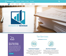 Image of the Division of Revenue's new CLF4 website