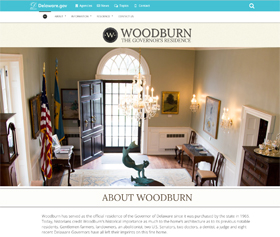 Image of Woodburn's new CLF4 website