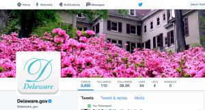 Photo of Delaware's Official Twitter Account
