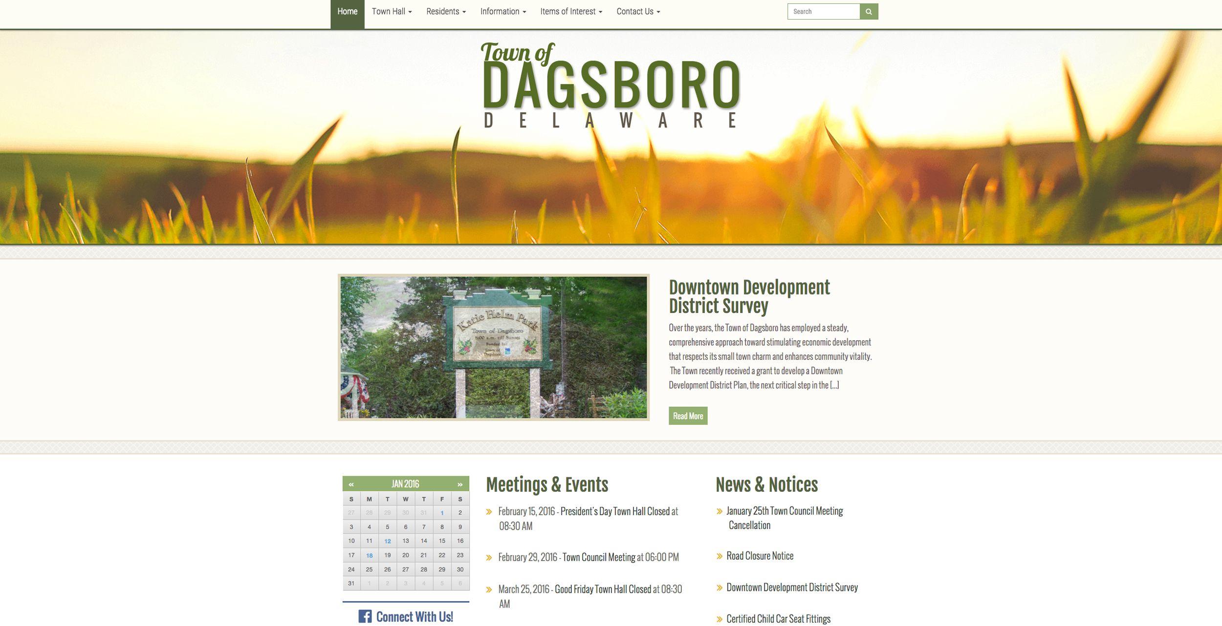 GIC Municipal Websites