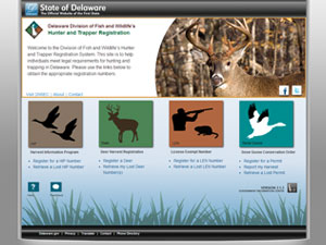 Hunting and Trapping Registration System - eGovernment