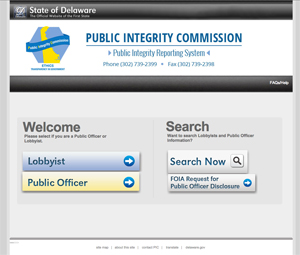 Public Integrity Reporting System - eGovernment