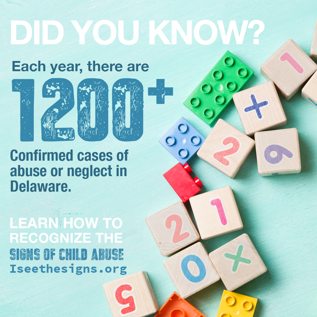 Image of children's blocks and legos for Child Abuse Prevention Month