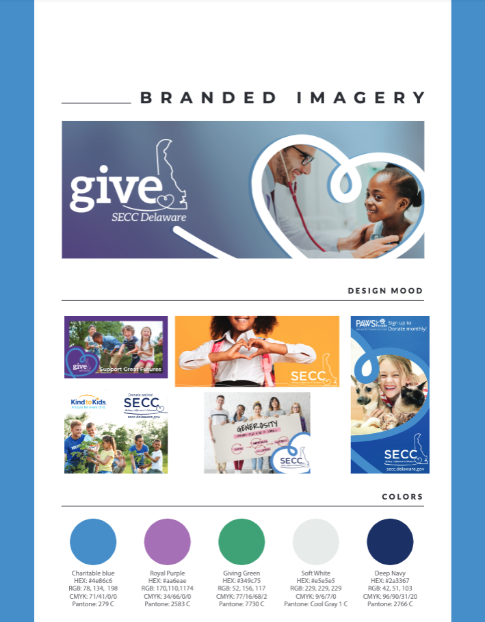 SECC Branded Imagery Guide Page