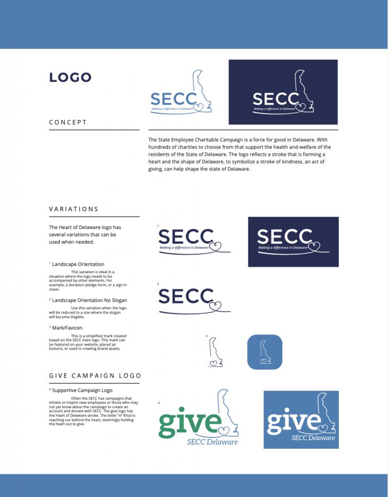 SECC Branding - Logo Samples