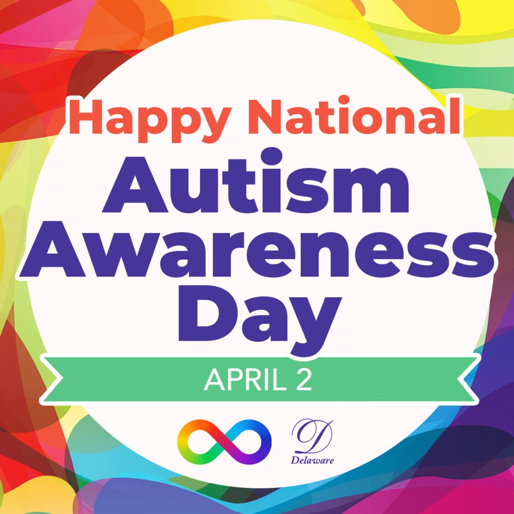 Happy National Autism Awareness Day - Social Graphic