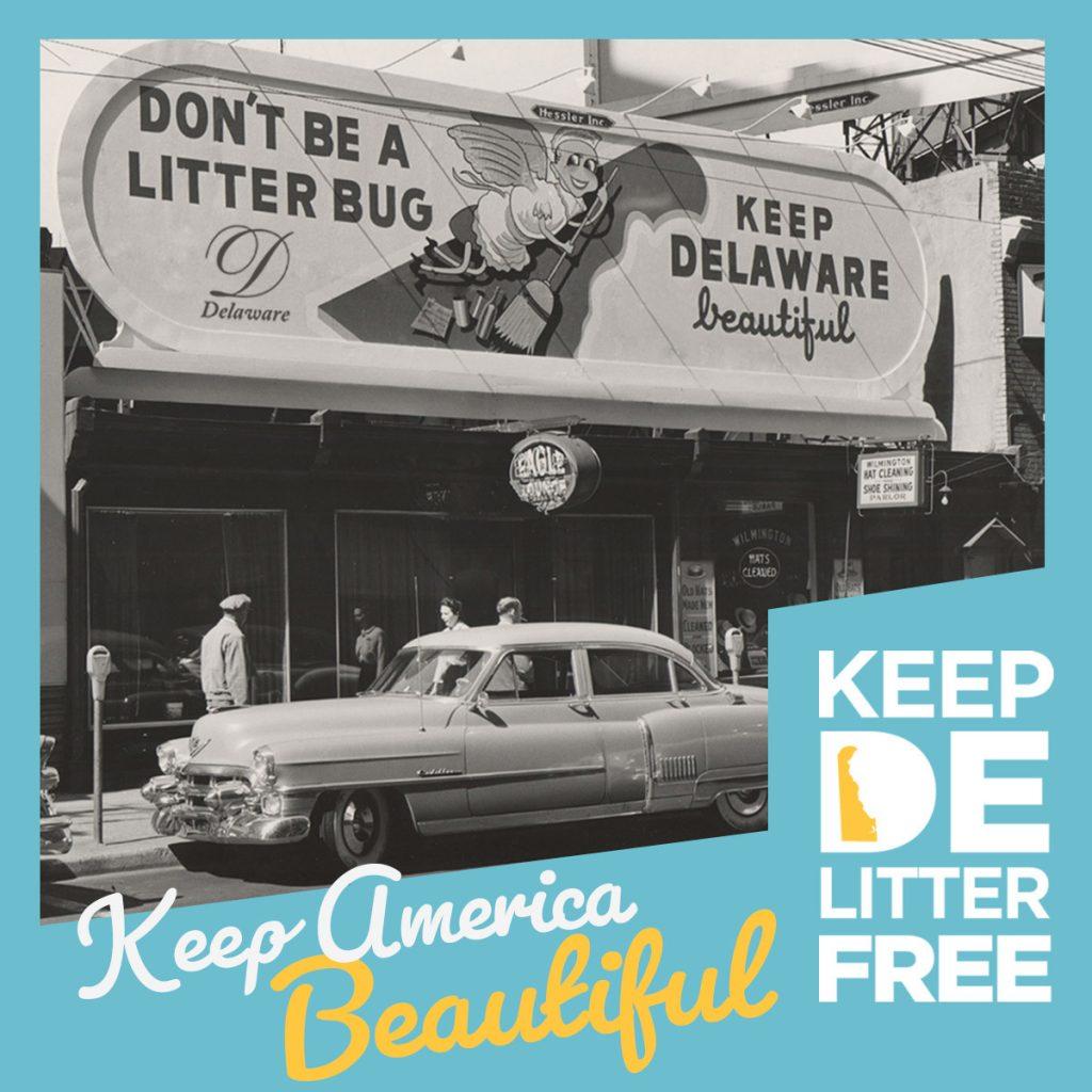 Keep America Beautiful Social Graphic