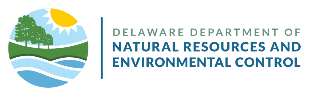 The Delaware Department of Natural Resources and Environmental Control logo in horizontal lockup.